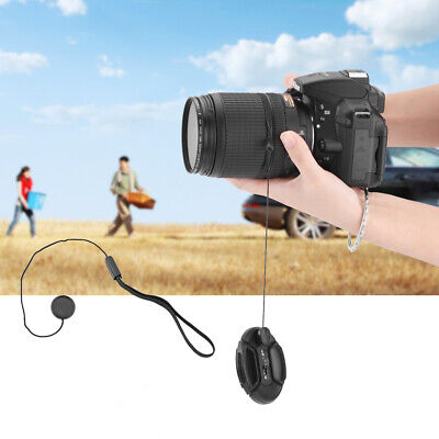 Camera Lens Cover Cap Keeper Strap Leash Anti-Lost Rope For Nikon Canon