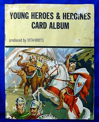 Nabisco Vita-Brits Cards In Booklet; Young Heroes & Heroines Card Album. 31/31.