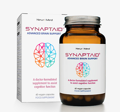 Synaptaid Advanced Brain Support - Doctor-Formulated for Cognitive Function
