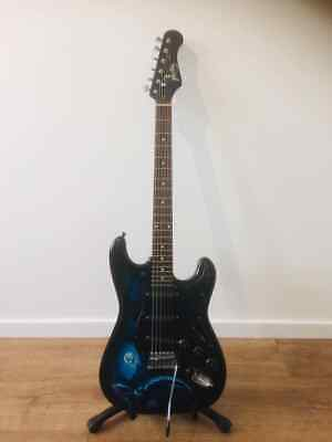 Jaxville Grim Reaper ST 6 String Electric Guitar Fully Serviced & Set Up