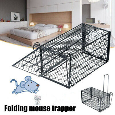 NEW Humane Rat Trap Iron Cage Live Animal Pest Rodent Mice Mouse Control Catch #