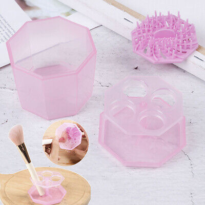 2IN1Silicone Makeup Brushes Washing Drying Make up Brush Cleaner Tool new. _