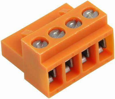 SOCKET BLOCK SCREW 4WAY Connectors Terminal Blocks