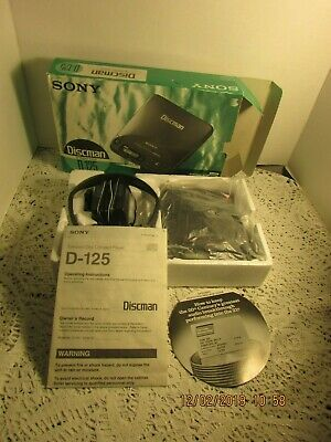 Used Sony Discman D-125 Great Condition