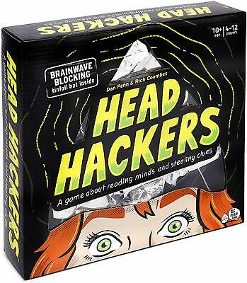 Big Potato Head Hackers: A Mind-Reading Family Party Game