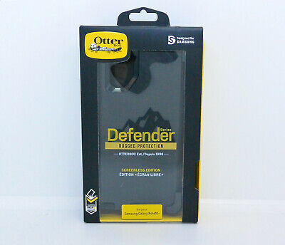 New OEM OtterBox Defender Series Case For Samsung Galaxy Note10+ Plus - Black