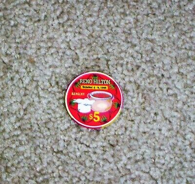 $5.00 Casino Chip Limited Edition 1996 From What Was The Reno Hilton