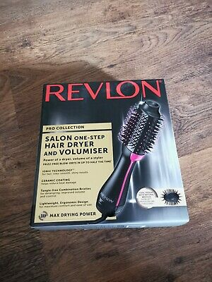 Revlon Pro Collection Salon One Step Hair Dryer Volumiser Hot Air Brush BrandNew