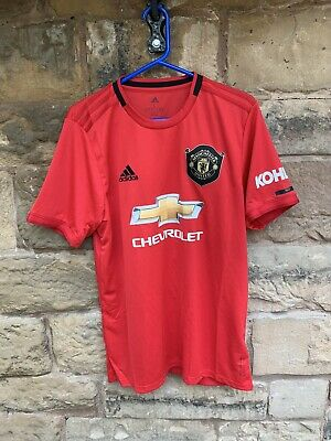 Brand New With Tags Manchester United FC 2019/20 Adidas Home Shirt Lge Maguire 5