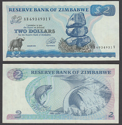 ZIMBABWE LOT 5x 1000$ 2003 XF-aUNC CONDITION