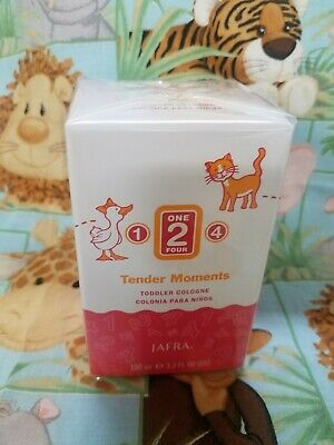 New and Fresh Jafra Tender Moments Toddler 1-2-4 Baby Cologne  3.3 Fl oz