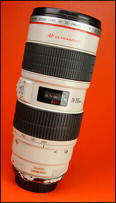 Canon EF 70-200mm F2.8 L IS USM  Manual Focus Zoom Lens Sold With Rear Cap