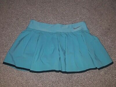 Nike blue girls tennis skirt size L in kids 13-14age