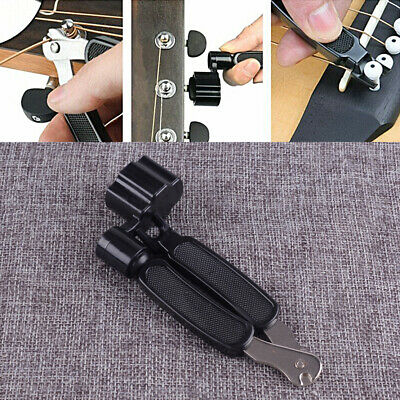 3 in 1 Guitar String Forceps Planet Waves String Winder Cutter Pin Puller