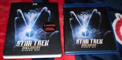 Star Trek Discovery Season 1 (Blu-Ray + Slip Cover) FACTORY SEALED