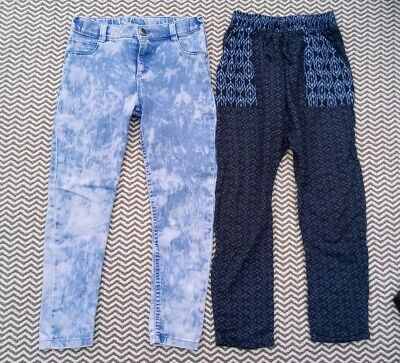 Girls Next Trousers & F&F Jeans Bundle Age 8-9
