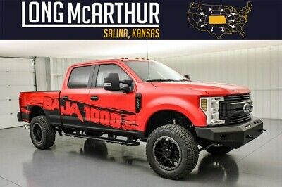 2019 Ford F-250 Baja 1000 Lifted Super Duty Diesel MSRP $75490 4x4 Crew 2.5in Suspension Lift AFE Cold Air Intake w Tuner Dyno Tested Fox Shock