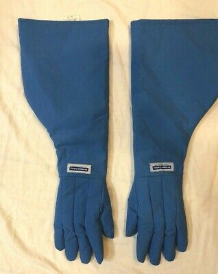 NATIONAL SAFETY APPAREL G99CRBERLGSH Cryogenic Glove, water resistant size L