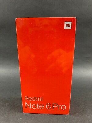 Xiaomi Redmi Note 6 Pro Bk Unlocked 64GB ROM 4GB RAM Smartphone Global Version