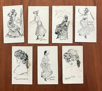 Wills sketches in black and white CIGARETTE CARDS