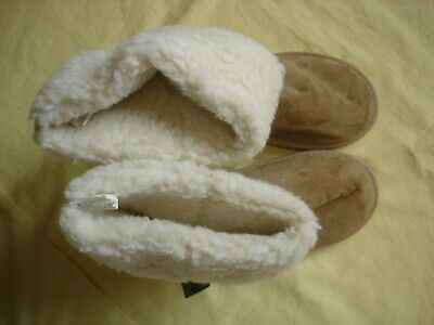 NWT New Cotton On Fur Sherpa Mukluks Boots Shoes L 9 - 10 Large Warm