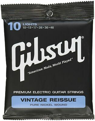 Gibson Vintage Reissue Electric Guitar Strings Light 10-46