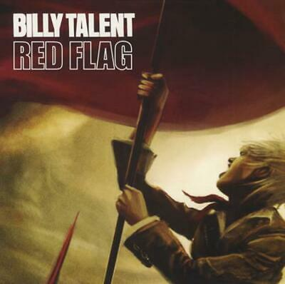 "Billy Talent Red Flag - Red Vinyl UK 7"" vinyl single record AT0256X"