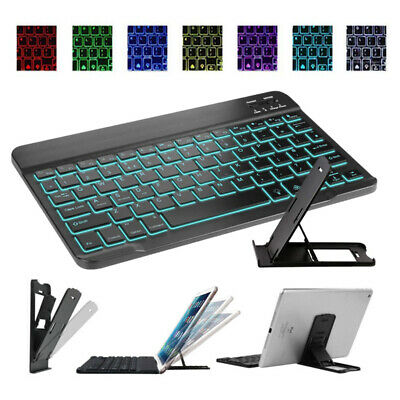 "Backlit Smart Keyboard & Stand For 2019 iPad 10.2"" 7th iPad 9.7""6th/5th Gen 2018"