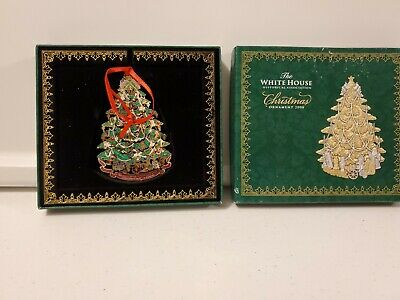 The White House Historical Association Christmas Ornament 2008 NEW In Box