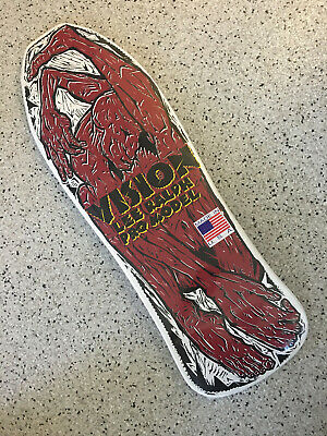 VISION LEE RALPH Old School Skateboard Deck Reissue WHITE - FREE SHIPPING