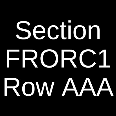 4 Tickets Rent 2/15/20 Brookville, NY