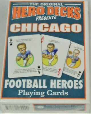 The Original Hero Decks University of Alabama Football Heroes Playing Cards