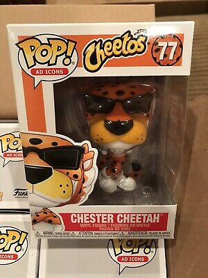FUNKO POP! CHEETOS CHESTER CHEETAH #77 Funko Pop! In Hand Ready To Ship