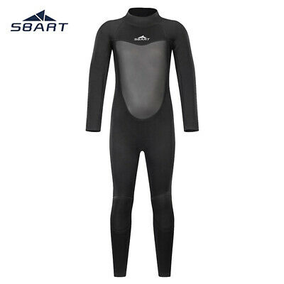 Kids Swimwear Long Sleeve Sun Protection Swimsuit One-Piece Diving Surfing Suits
