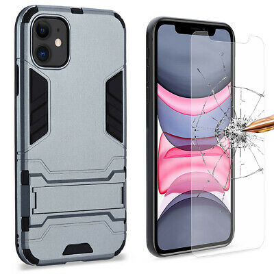 Heavy Duty PC+Rubber Shockproof Shell Case for 2019 iPhone 11 XR 11 Pro Max XS