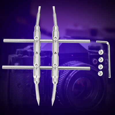 AU Spanner Wrench Open Repair Tools Stainless Steel for DSLR Camera Lens TP