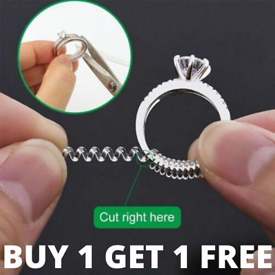 Ring Wrap Clip Size reducer Sizer - 10cm long - Fits All Rings - Cut to Fit