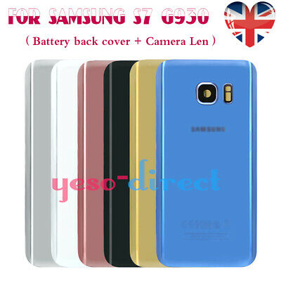 For SAMSUNG GALAXY S7 G930 REAR BACK GLASS BATTERY COVER CAMERA LENS