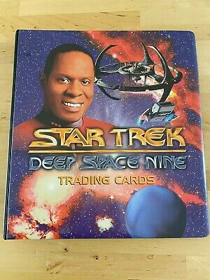 1993 Star Trek Deep Space Nine DS9 Skybox Trading Card Set - Complete + binder