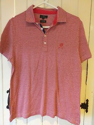 Mens Jeff Banks Polo shirt / top L large 42 inch chest regular fit