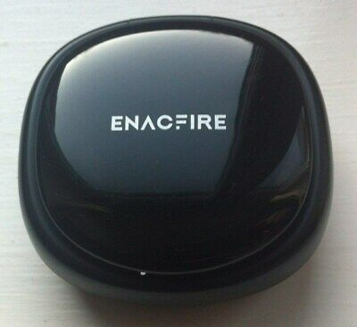 Enacfire Future Black Wireless Earbuds with Charging Case.