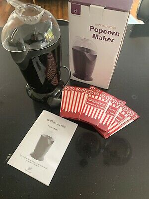 Popcorn Maker Hot Air Machine By Andrew James White