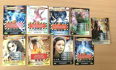 Dr Who Battles In Time 9 Cards Including Rare Dalek Sec