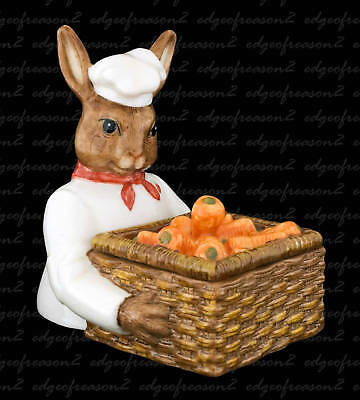 Royal Doulton Bunnykins Figurine Chef Candy Box