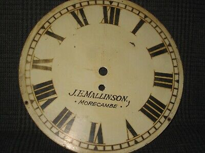 Vintage Fusee Wall Clock Painted Dial (2)
