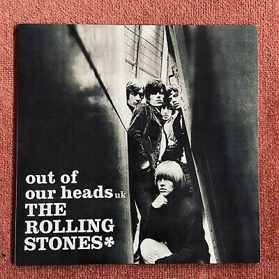 "The Rolling Stones Out Of Our Heads UK 12"" Vinyl LP 2003 ABKCO Reissue"