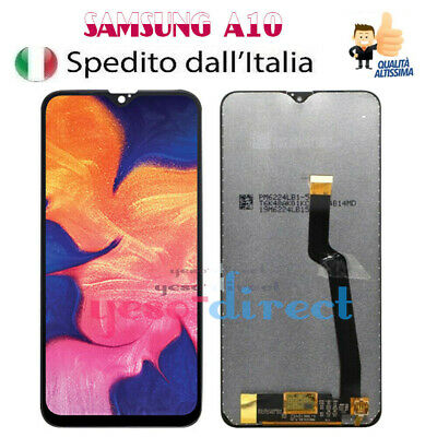 Display Lcd Samsung Galaxy A10 2018 Sm A105Fn A105Ds Touch Screen Vetro Schermo
