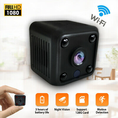 Mini Full HD Spy Telecamera Wireless Wifi IP Micro Camera Spia Nascosta Video DV