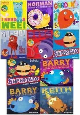 Sue Hendra Supertato and Other Stories Collection 10 Books Set () NEW PB NEW