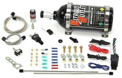 Nitrous Outlet Powersports Twin Discharge Dry Nitrous System (2.5 LB Bottle)